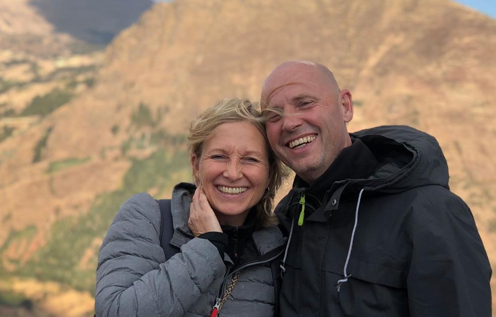 Elke Steinbach und Hans-Martin Beck, die Gründer und Organisatoren von Inka World