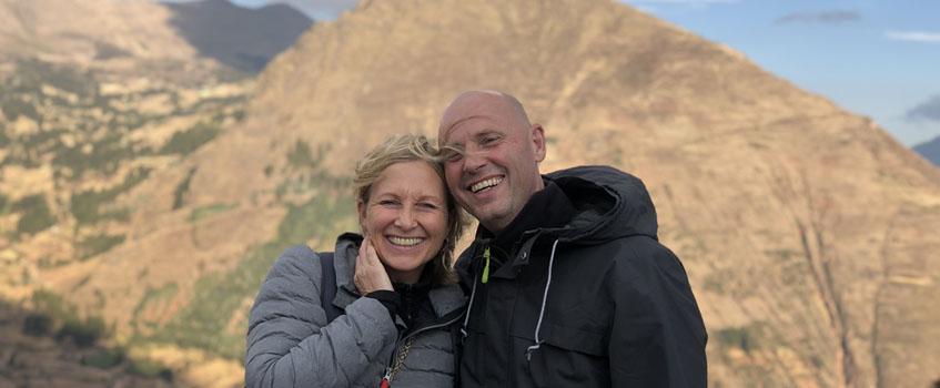 Elke Steinbach und Hans-Martin Beck, die Gründer von Inka World