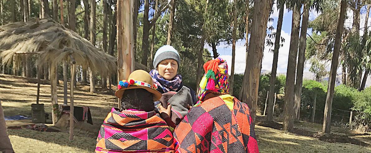 Inka-Initiierung durch zwei Q'ero-Priester und Schamanen