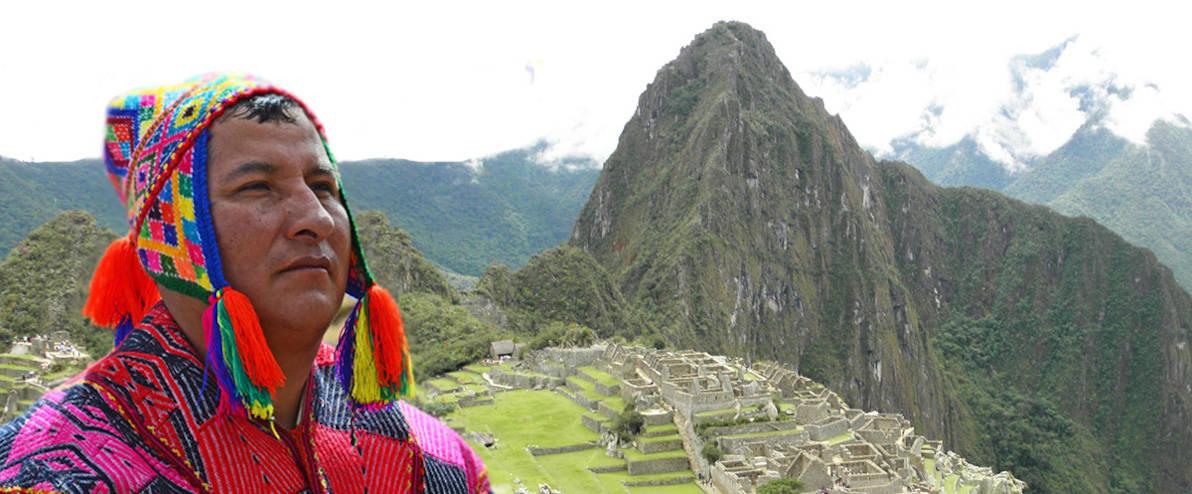 Heilarbeit mit einem Inka-Meister aus Peru 1