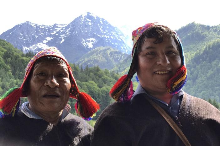 Heilarbeit mit Inka-Meistern aus Peru 2