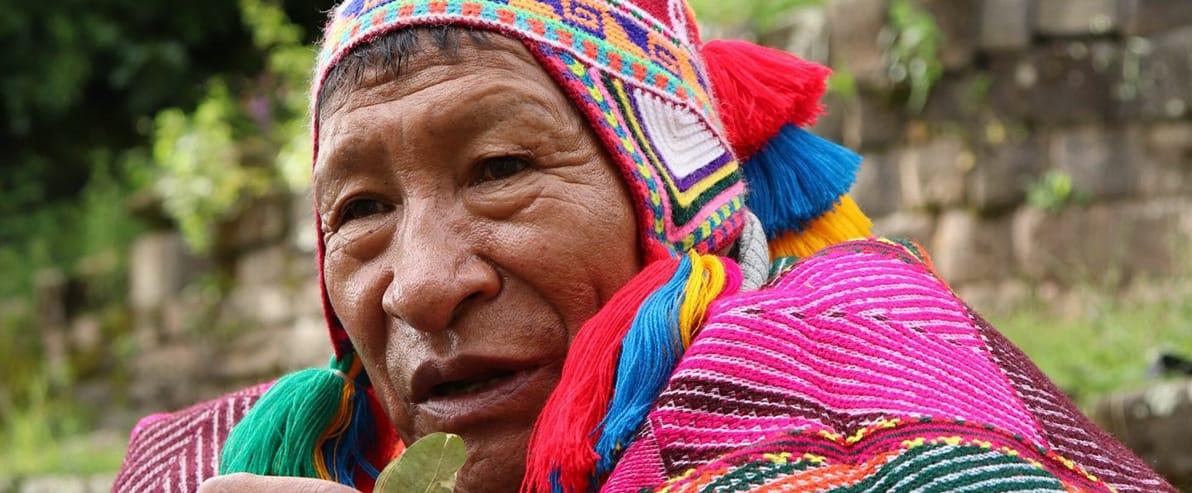 Heilarbeit mit Inka-Meistern aus Peru 1
