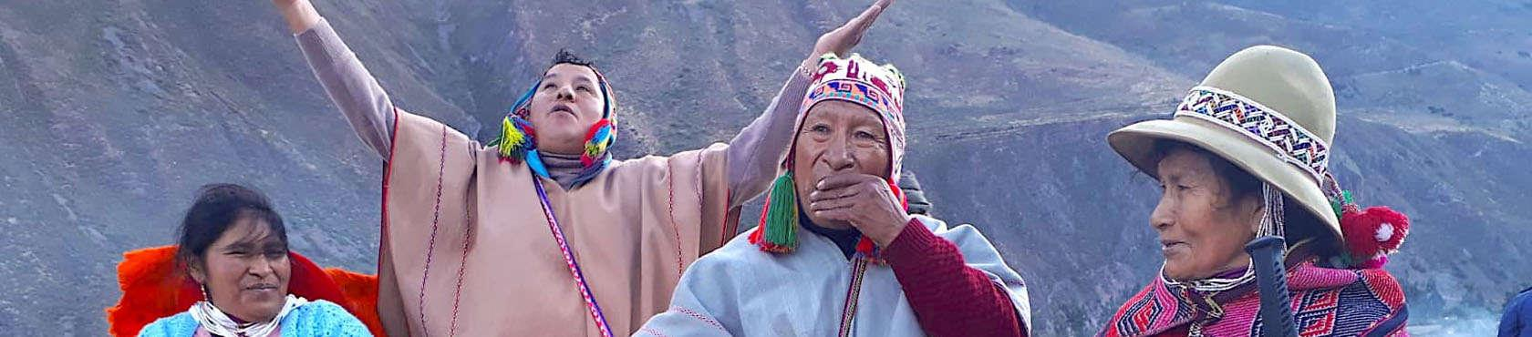 Alto mesayoq, pampa mesayoq und der Pfad der Tänzer 1