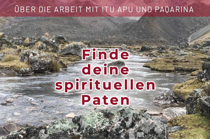 In diesem Workbook erhältst du eine Anleitung, um deine spirituellen Paten, Itu Apu und Paqarina, zu finden und mit ihnen zu arbeiten