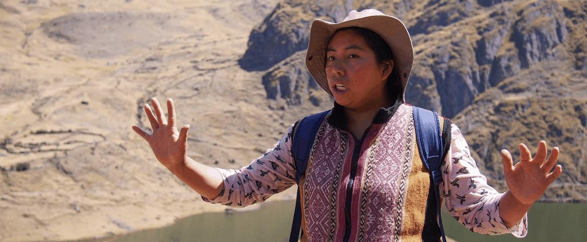 Heilarbeit mit einer Inka-Meisterin 1