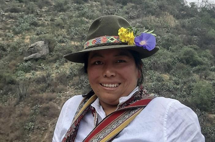 Heilarbeit mit einer Inka-Meisterin 2